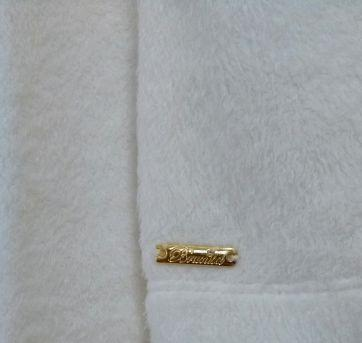 Casaco em Pelúcia Branco Brunisa - 4 anos - Brunisa