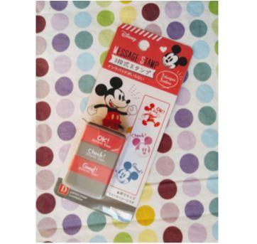 Kit de Carimbos do Mickey - Sem faixa etaria - Daiso Japan