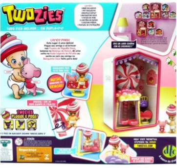 Playset Twoozies Candy Park - Sem faixa etaria - DTC