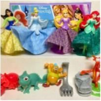 Três Miniaturas do Kinder Ovo Coleção Disney: Ariel, Gus e Mushu! -  - Kinder Ovo