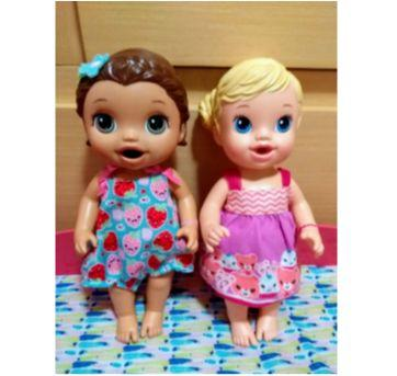 Boneca Baby Alive Morena Lanchinhos Divertidos - Sem faixa etaria - Hasbro