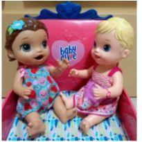 Boneca Baby Alive Morena Lanchinhos Divertidos -  - Hasbro