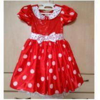 Vestido Minnie Mouse Original Disney Store - 5 anos - Disney