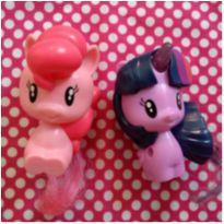Personagens My Little Pony ❤ Pinkie Pie e Twilight Sparkle❤ -  - Mc Donald`s