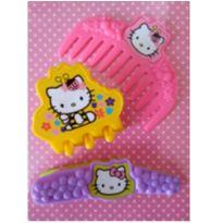 Kit de Acessórios de Cabelo da Hello Kitty