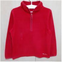 Casaco Vermelho em Fleece OshKosh - 6 anos - OshKosh