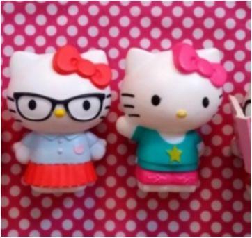 Coleção Com Quatro Hello Kittys - Sem faixa etaria - Mc Donald`s