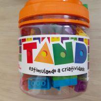 Pote com Blocos de Montar Tand Toyster -  - Toyster