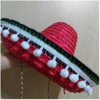 Chapéu Sombrero Mexicano (2/4 anos) - 24 a 36 meses - Star Confecções