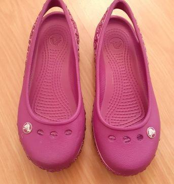 Sapatilha Crocs Genna Hearts Roxa - 29 - Crocs