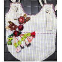 Bolsa Artesanal em Tecido -  - Handmade