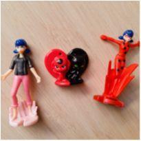Coleção de Personagens Miraculous - Lady Bug - Surpresas Kinder Ovo -  - Kinder Ovo