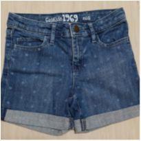Short Jeans Marinho Gap - 8 anos - GAP