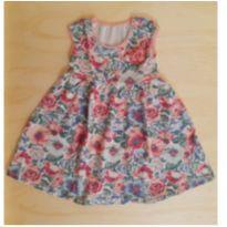 Vestido Floral Kyly - 1 ano - Kyly