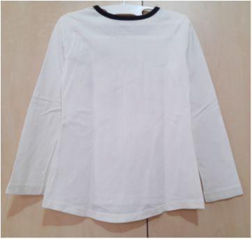 Camiseta Manga Longa Estampa 86 Floral - 6 anos - Fuzarka