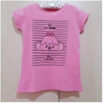 Camiseta Ice Cream Lilica Ripilica - 7 anos - Lilica Ripilica