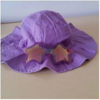 Chapéu Lilás Proteção UVA e UVB H&M (6-8 anos) -  - H&M