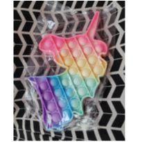 Fidget Toy Pop It de Unicórnio Colorido Brinquedo Anti Stress Ansiedade -  - Sem marca