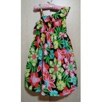 Vestido Estampa Floral 6T Carter`s - 6 anos - Carter`s