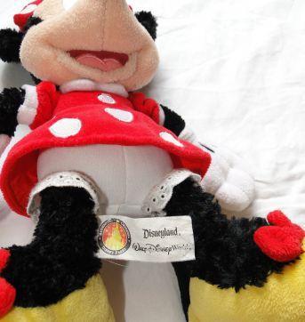 Boneco de pelúcia da Minie - original da Disney - Sem faixa etaria - Disney