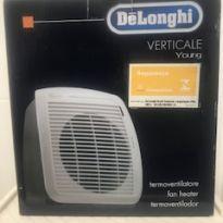 Termoventilador Verticale Delonghi - vento quentinho para aquecer no inverno