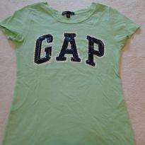 Camiseta GAP - Lindo bordado brilhante - 8 anos - GAP