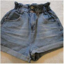Shorts Jeans cintura alta - 13 anos - COTTON ON KIDS