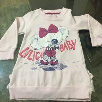 Vestido Moletom Lilica Ripilica - 18 meses - Lilica Ripilica