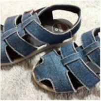 Sandália jeans - 25 - Cartago e Grendene Kids