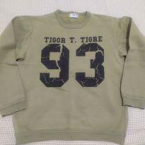 Moletom tamanho 8 - 8 anos - Tigor T.  Tigre