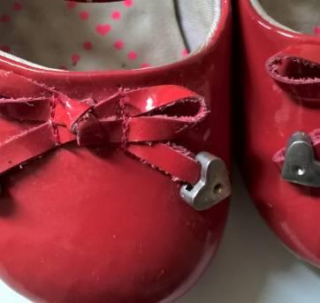 Sapatinho vermelho de verniz - 21 - Bibi