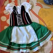 Fantasia Italianinha (Tarantela) - 3 anos - Costureira