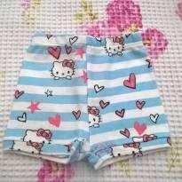 Shortinho Hello Kitty - Recém Nascido - Up Baby