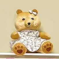 Ursa grande para decoração (Marca: Nicole Ferri) -  - Sem marca