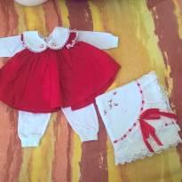 Saída de Maternidade - Recém Nascido - Artesanal