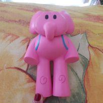 Elefante Elly ( Amiga do Pocoyo) - Sem faixa etaria - Brinquedos Cardoso
