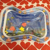 Mini tapete inflável de água para bebês