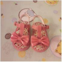 Sandália rosa com lacinho - 14 - Pimpolho