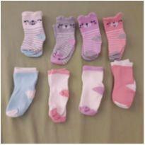 Combo 8 pares de meias Gerber - 3 meses - Gerber
