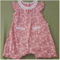 Macaquinho floral - 3 a 6 meses - Teddy Boom