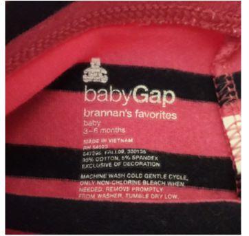 Legging Baby Gap ( Doação) - 3 a 6 meses - Baby Gap