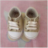 Tênis bebê dourado - 15 - Pimpolho