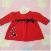 Blusinha joaninha - 3 a 6 meses - Miniwear- USA