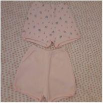 Kit 2 shortinhos - 6 a 9 meses - Patimini