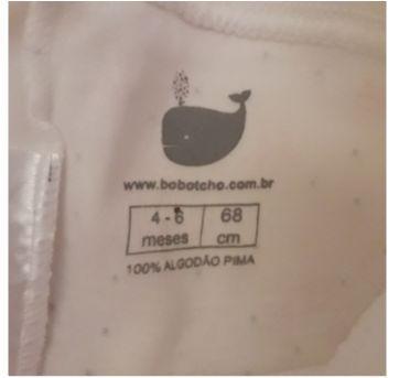 Calça pijama lacinhos. Algodão peruano orgânico. - 6 meses - Bobotcho