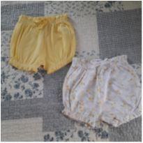Dupla de shortinhos - 6 a 9 meses - Baby Way