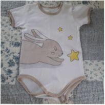 Body coelhinho - 6 meses - Dedeka