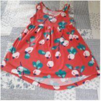 Vestido flores - 4 anos - Hering Kids
