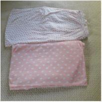 Kit 2 lençóis de berço em malha -  - Importada