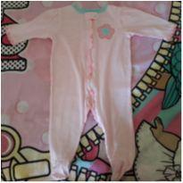 Pijama com pezinhos Gerber - 6 a 9 meses - Gerber